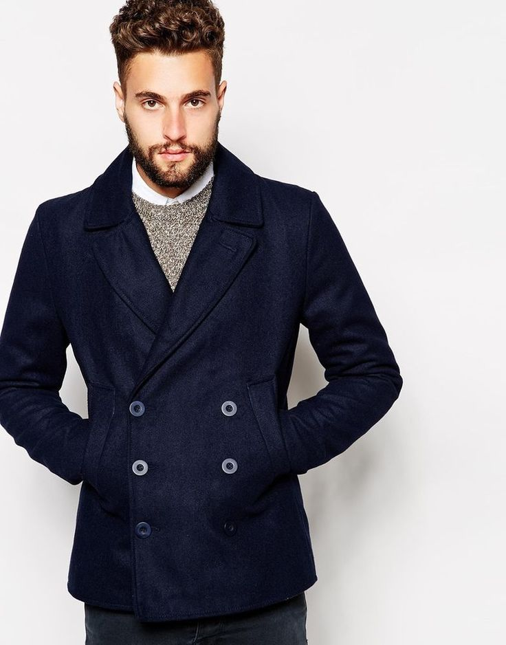Best 20  Mens peacoat ideas on Pinterest   Men winter fashion ...