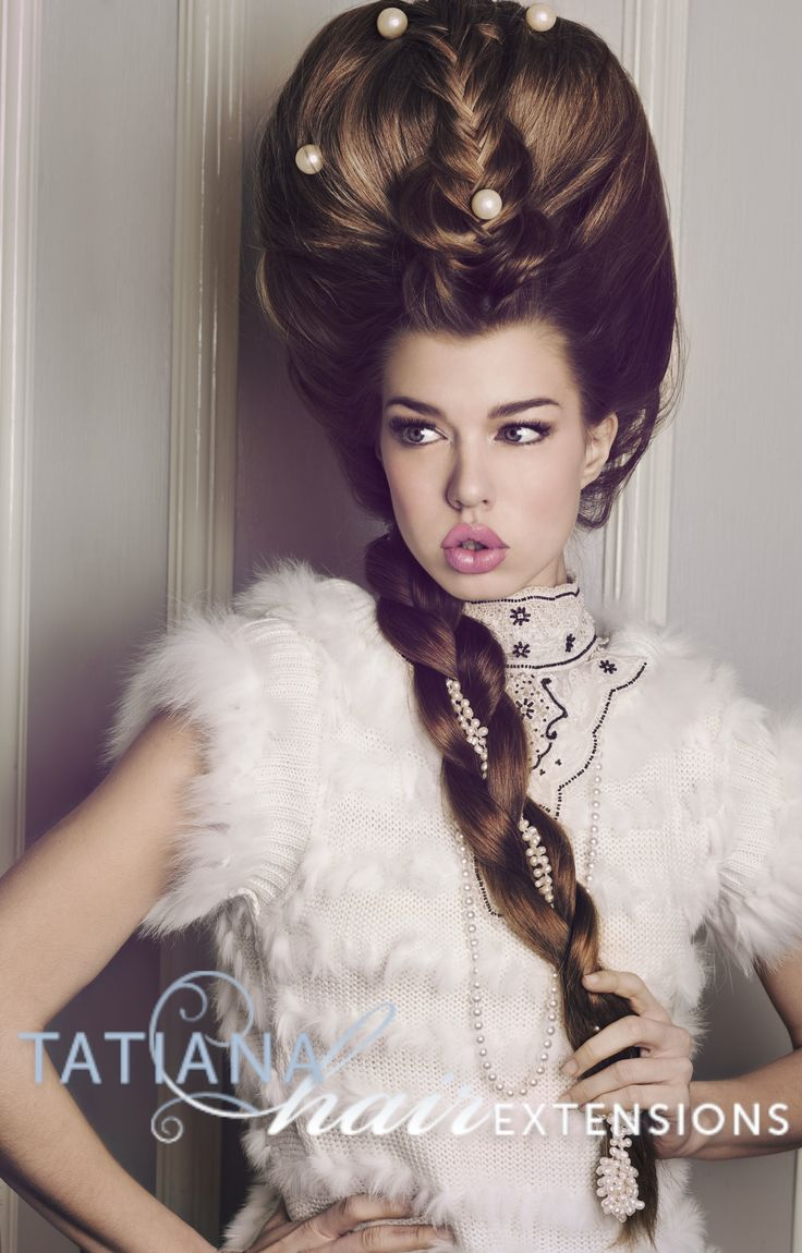Avant Garde Hair. Hairstyle byn#tatianahairextensions using hair extensions and hair pieces