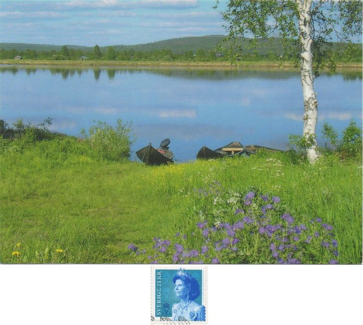 SE-138747 - Arrived: 2017.10.02   ---   The Torne, also known as the Tornio s a river in northern Sweden and Finland. r approximately half of its length it contains the border between these two countries.