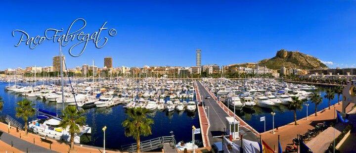 Puerto de Alicante. Fotro de Paco Fabregat