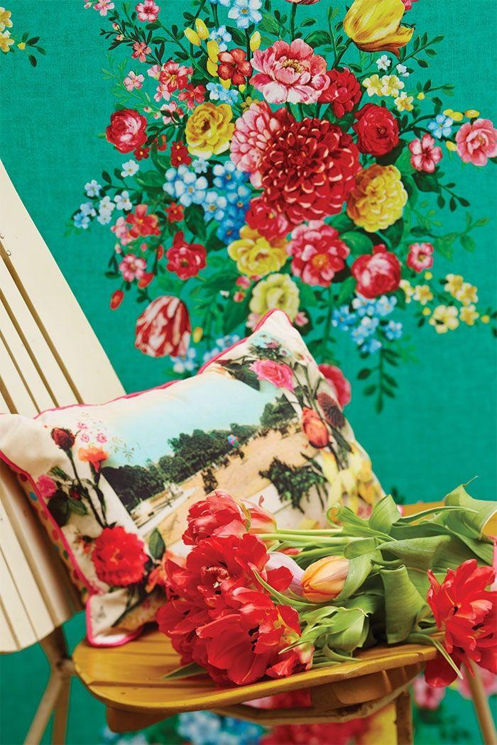 PiP Dutch Painters | Green Wallpaper | PiP Studio ©