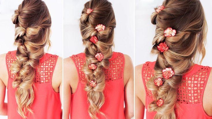 Tante idee per acconciature capelli lunghi dal mosso al liscio, dal raccolto al semi raccolto, tutte all'ultima moda!