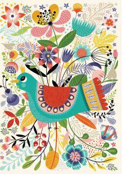 Roger la Borde | Greeting Card by Helen Dardik