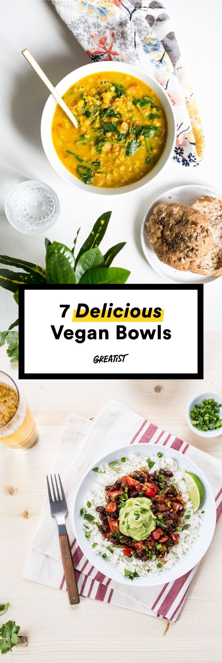 We'll meet you at the bottom. #vegan #bowl #recipe…