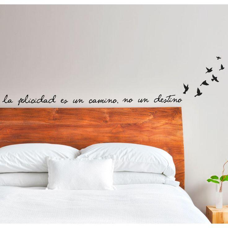 vinilo-cabecera-cama-texto-felicidad