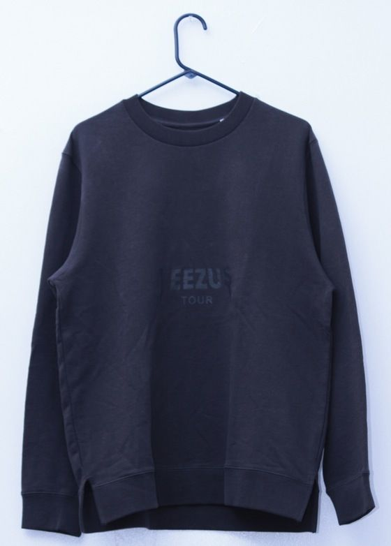 Image of YEEZUS TOUR MERCH x PACSUN GREY SWEATSHIRT