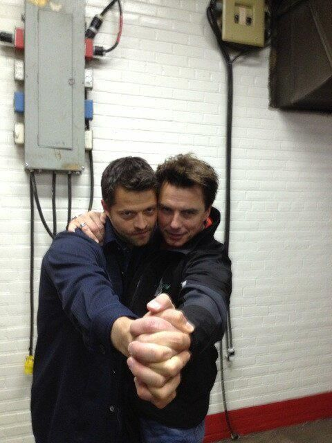 Cas and Jack!!!! My life is complete :)