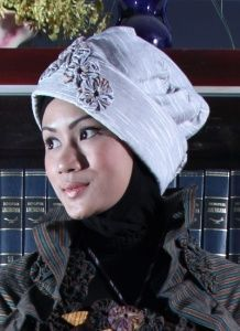 Lurik creation for muslim wear