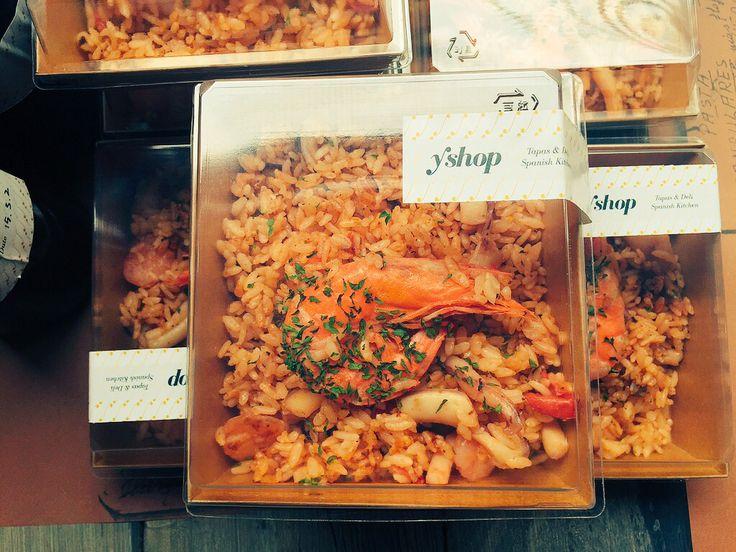yshop#paella#spanish deli#seoul#package#design#studio grafico#food