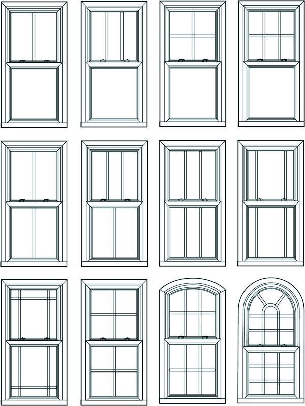 25 best ideas about window styles on pinterest exterior for Window sizes for homes
