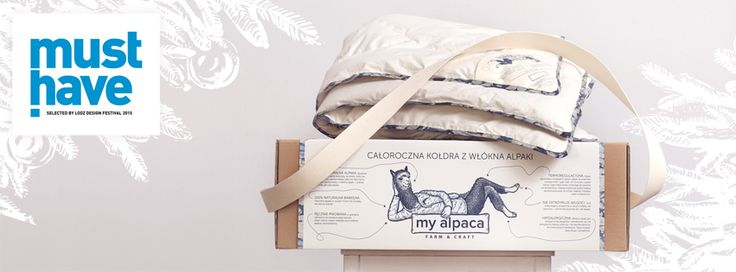 my alpaca - must have award at the Lodz Design Festival
