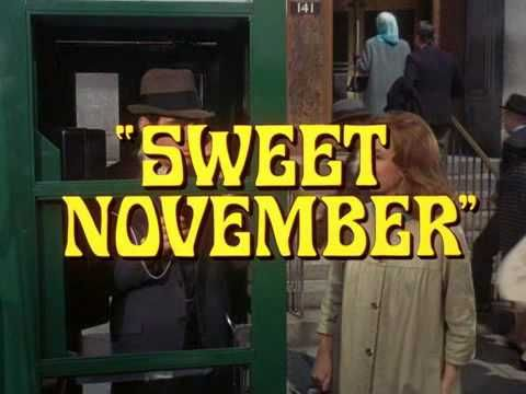 Sweet November (1968) Trailer