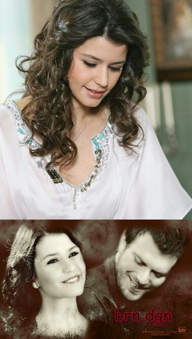 Beren Saat & Kivanc Tatlitug in Aşk-ı Memnu a Turkish TV series. 2008-2010 two seasons.