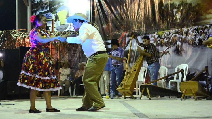 Mejor pareja Baile de Joropo de Publio González y Maritza Marín, en Tame #dance #folk #Joropo #Venezuela