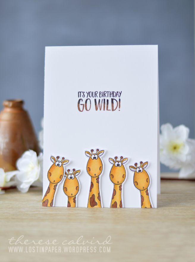 Lostinpaper - Gerda Steiner - Go Wild (card video) 1