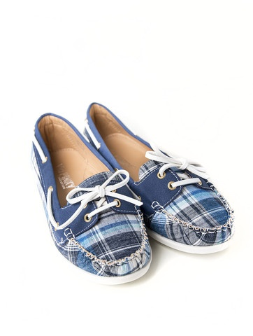 Preppy and Plaid Boat Shoes | Tailor and Stylist