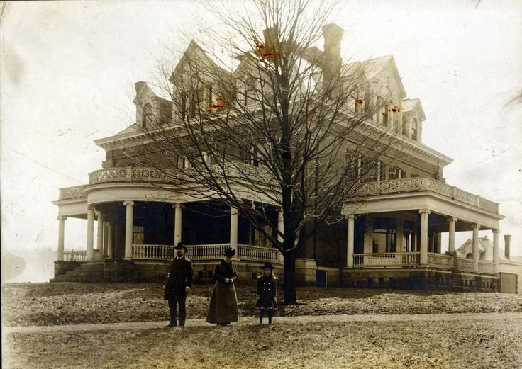 I LOVE everything about this home!! Alpha Sigma Phi House (possibly ca. 1900), Bethany College (WV)