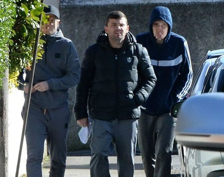 Gardai have seized a gun and ammunition just 25-yards from 'Cocaine Cowboy' Liam Byrne's Dublin home.