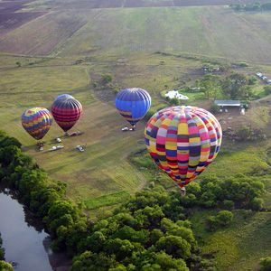 Hot Air Ballooning in Hartbeespoort Visit www.weloveharties.co.za