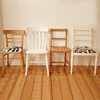 @Laura Jayson Brace Foxy Mismatched Dining Chair Set