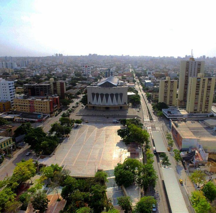 """Epicentro del área Histórica de  Barranquilla """"La Plaza de la Paz"""""""