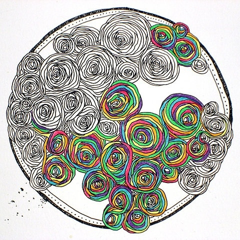!!!! rainbow roses FAVORITE THING EVER. I need to go do this right now.