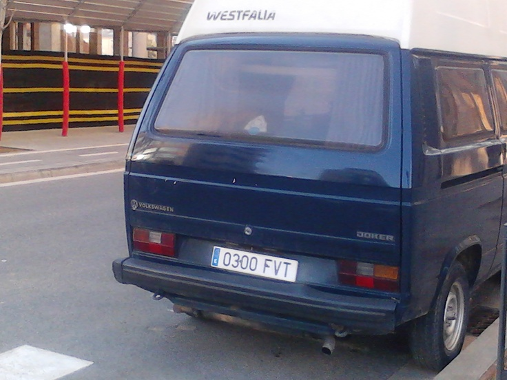 Blue Westfalia