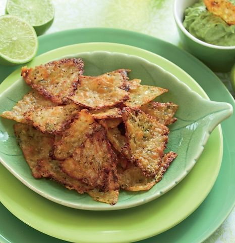 Tortillachips med guacamole