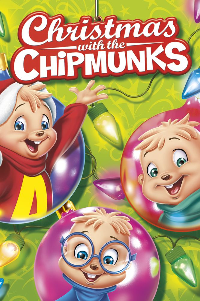 Alvin and the Chipmunks: Christmas With the Chipmunks Movie Poster - Ross Bagdasarian, Janice Karman  #AlvinandtheChipmunks, #MoviePoster, #JaniceKarman, #KidsFamily, #RossBagdasarian
