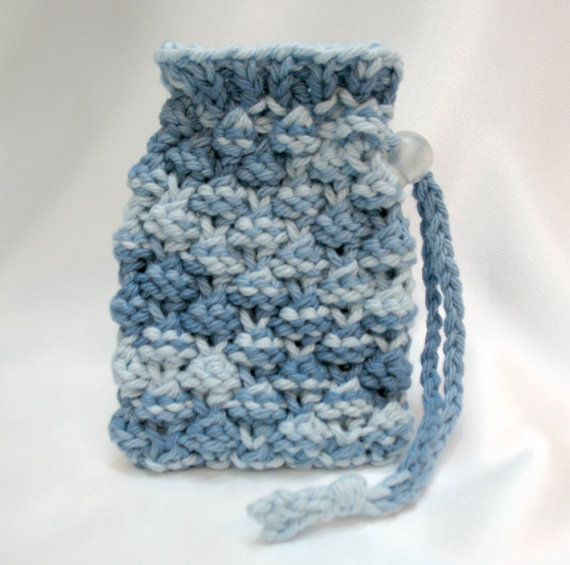 8 Best Soap Bags Knitted Images On Pinterest Loom Knitting