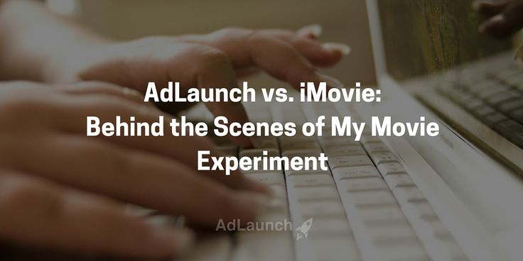 Marketing and advertising videos made ridiculously easy. Behind the scenes of how AdLaunch is better than iMovie for making business videos.
