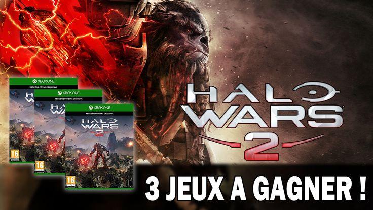 En collaboration avec Microsoft, tentez de remporter le jeu Halo Wars 2 sur Xbox One avec notre nouveau concours exclusif! #4wearegamers