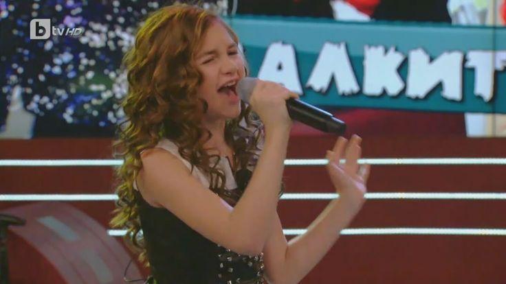 "Krisia Todorova: Singing ""Black Velvet"" by Alannah Myles"