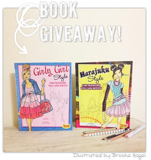 Fabulous Doodles Giveaway! {Fashion Illustration Books}