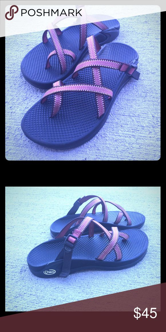 Women's Chaco Sandals - size 7 Like new!! Only wore a few times. Perfect for summer hikes and fashionable enough to wear around town. Chacos Shoes Sandals