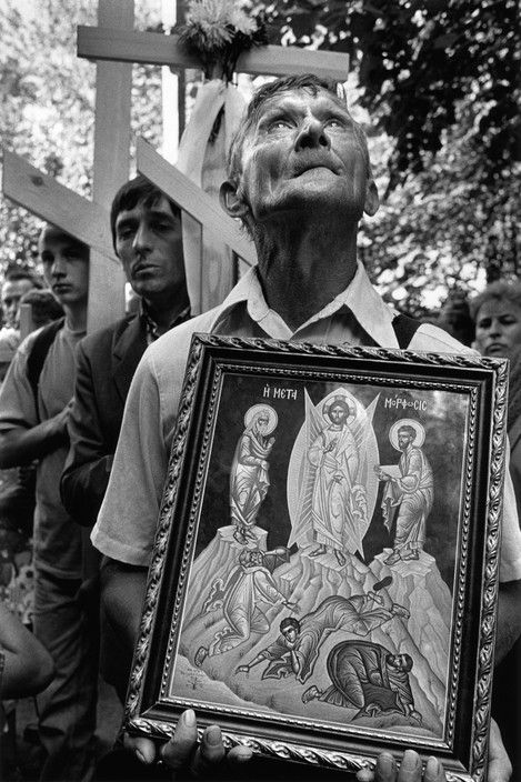 Magnum Photos  Cristina Garcia Rodero POLAND. Near the town of Siematycze. The Holy Mount of Grabarka (Holy Hill of Grabarka) is a sanctuary for orthodox christians in Poland.