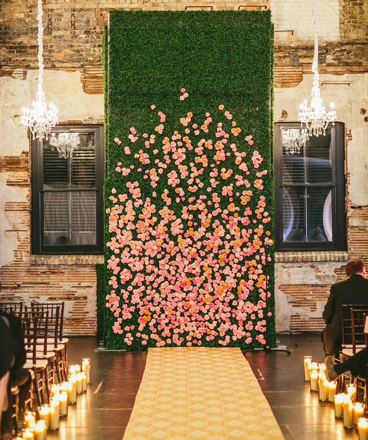 10 Unexpected Ways To Use Florals At Your Wedding