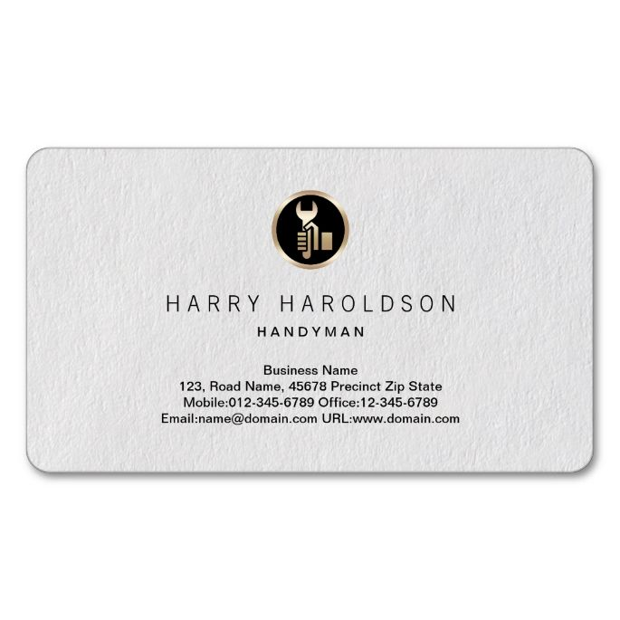 1978 best handyman business cards images on pinterest business hand tool icon simple handyman business card colourmoves