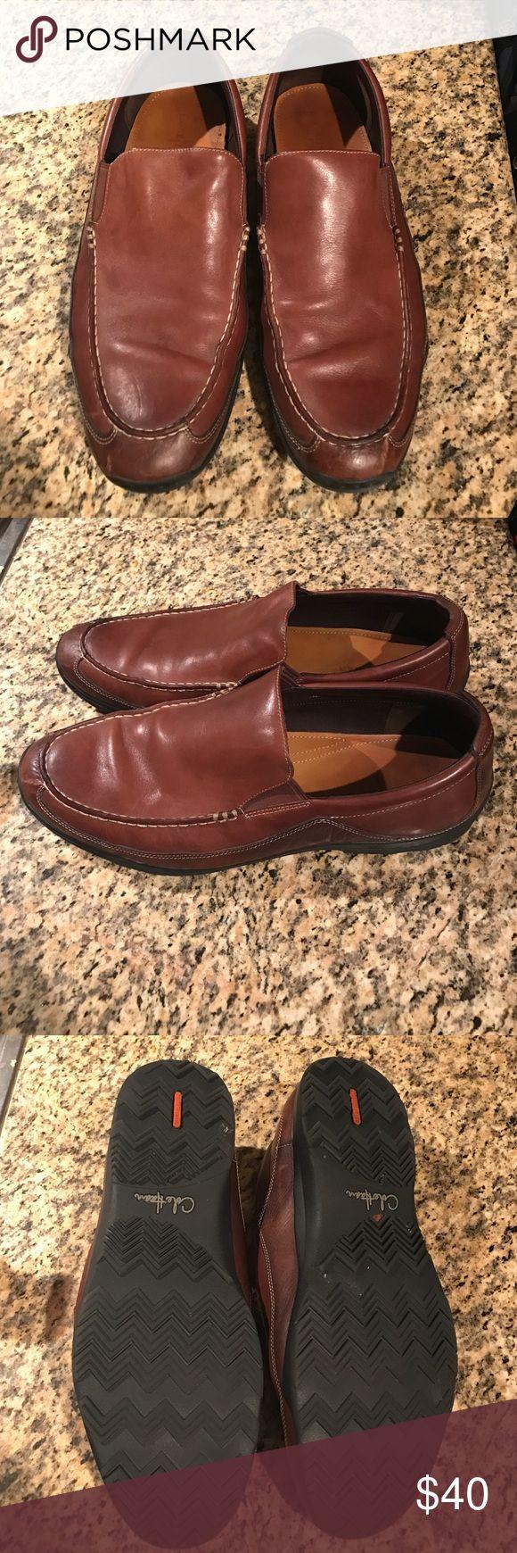 Cole Haan slip-on loafers Cole Haan brown slip-on loafers. Lightly worn Cole Haan Shoes Loafers & Slip-Ons