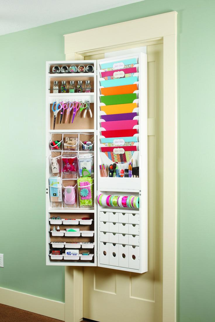 Scrapbook room storage ideas - Craft Armoire By Jinger Adams 299 99 Scrapbook Storagescrapbook Roomsmy