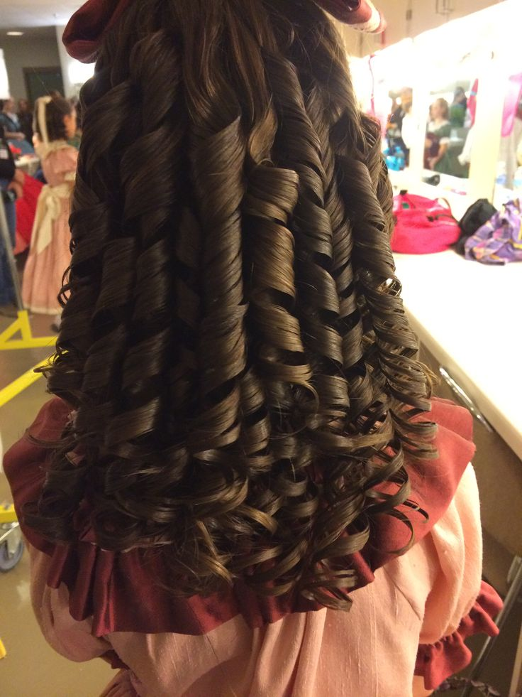 Such pretty springy ringlets! So fun to bounce them!