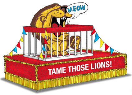 homecoming float ideas | HOMECOMING FLOAT PLANS | 1000 House Plans