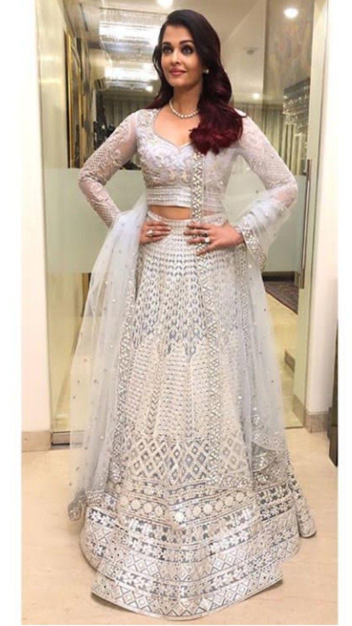 Beautiful Aishwarya With Beautiful Lehenga Indian Wedding Wear Indian Dresses Indian Wedding Outfits