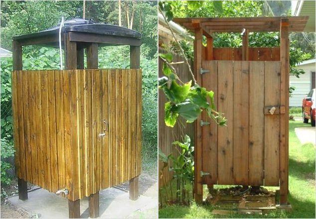 Летний душ для дачи своими руками - фото вариантов, строительство конструкции