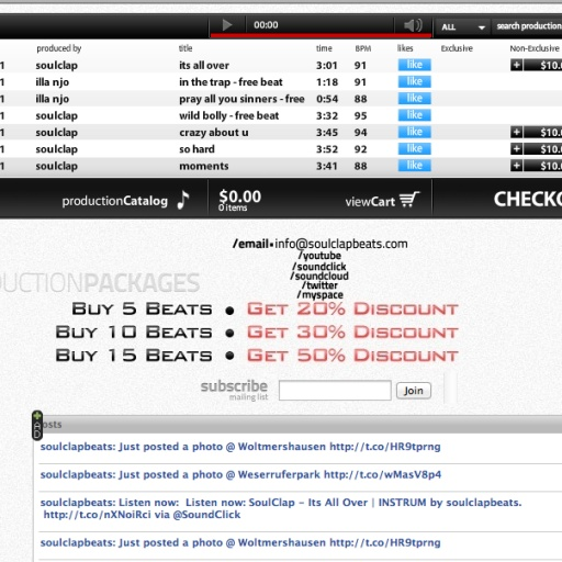 Download our App Buy Beats On Your Phone built by Appsgeyser.com