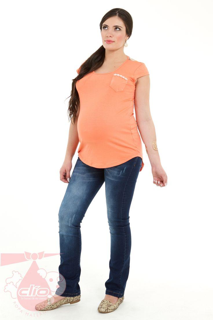 #Ropa #materna #moderna, diseños cómodos para el embarazo y que llevan tendencias de moda.