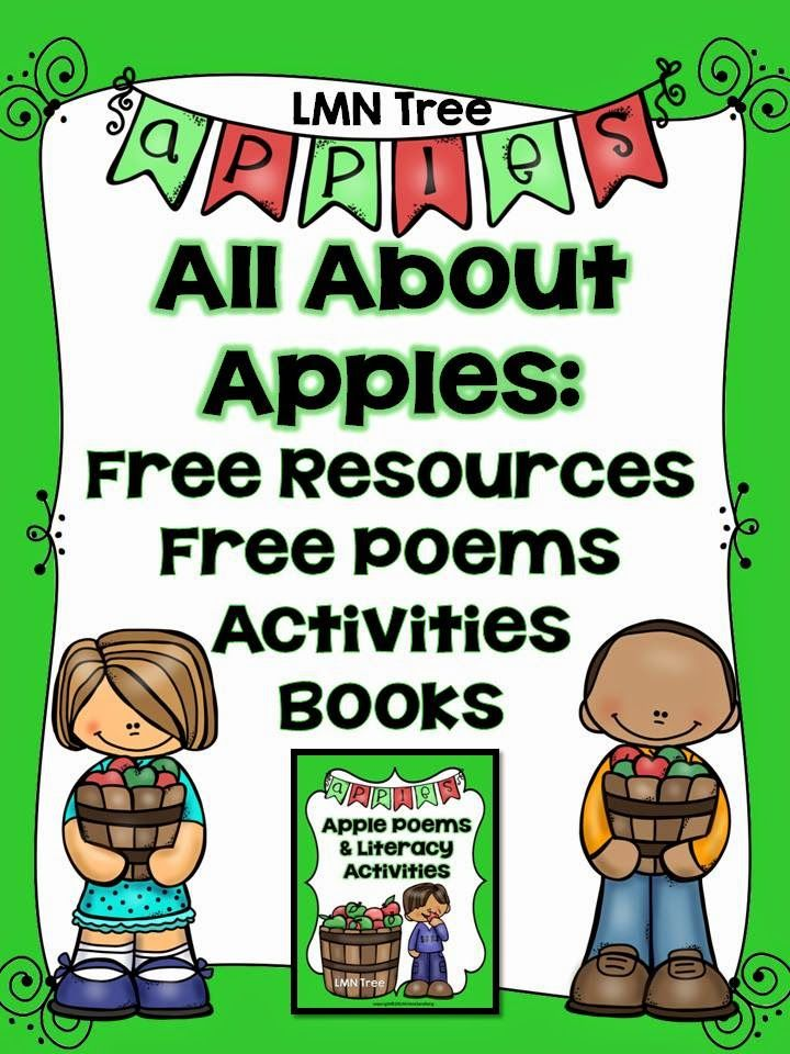 LMN Tree: All About Apples: Free Resources, Free Poems, Activities, Crafts, Books and More