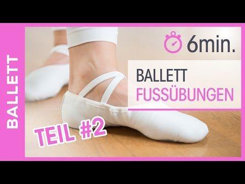 Ballett Dance Füße -Tanzen lernen für Anfänger - Beweglichkeit & Kräftigung - Tanz mit Anna - HD - YouTube