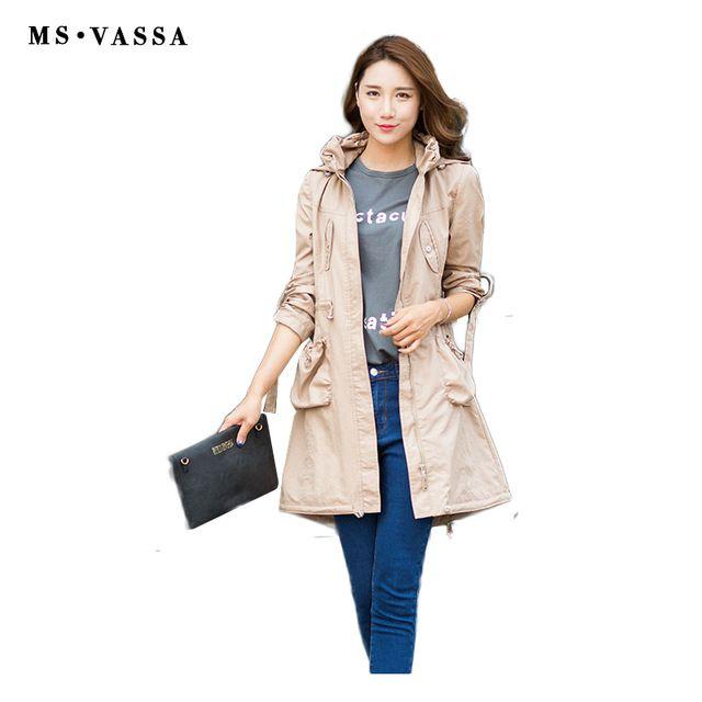 Новый Женский Весна пальто Мода дамы длинные случайные пальто отложным воротником счастливы размер тонкий сплошной цвет высокой качество верхней одежды