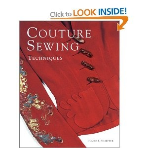 I also bought this book (after Gertie suggested it) to read on the plane.  It is very neat, although it has also reminded me that I lack the attention to detail required to make nice things. #craft book #sewing book